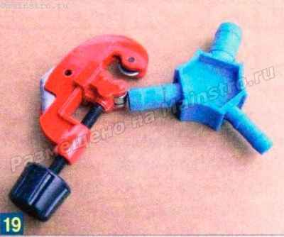 Роликовый резак и специальный калибратор