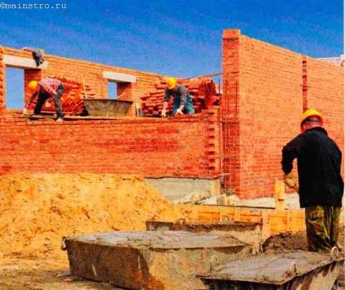 тоимость строительно-монтажных работ в среднем составляет 40 % от всей стоимости строительства