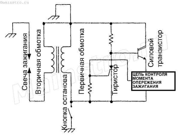 универсальной транзисторной схемой зажигания УТСЗ