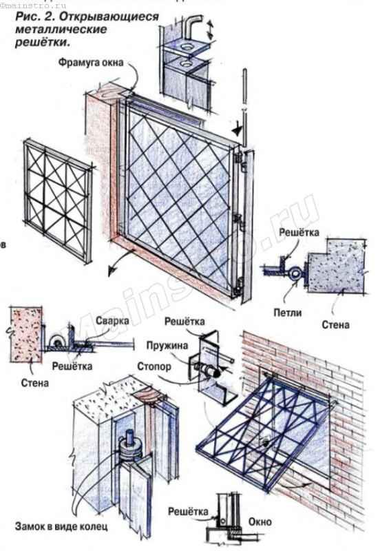Как защитить окна на даче от воров своими руками