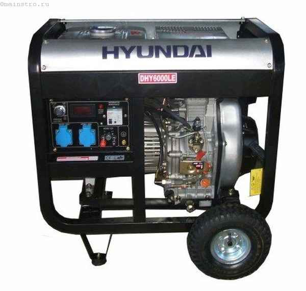 HYUNDAI Professional DHY 6000LE