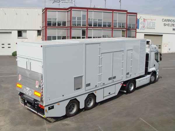 передвижной генератор