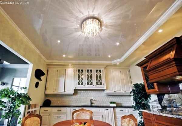 освещения натяжного потолка
