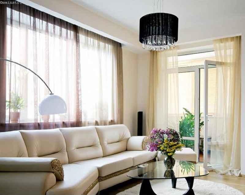 прозрачные раздвижные шторы