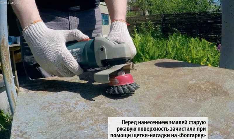 подготовка поверхности для защиты металла от коррозии