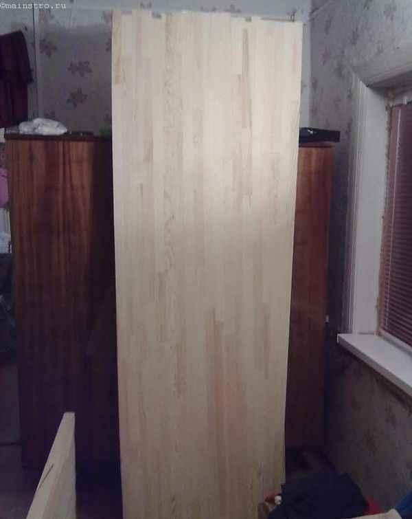 дубовый мебельный щит для столешницы