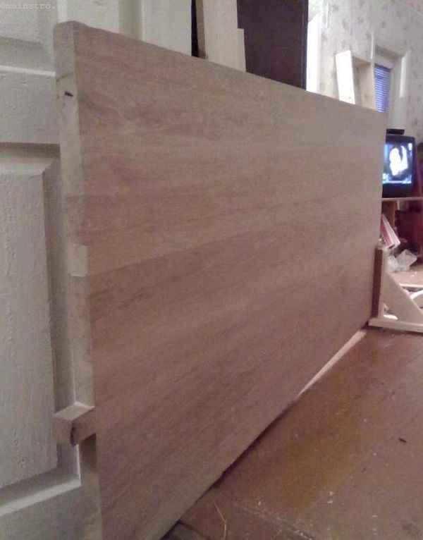 дубовый мебельный щит размерами 2000Х900Х40 мм