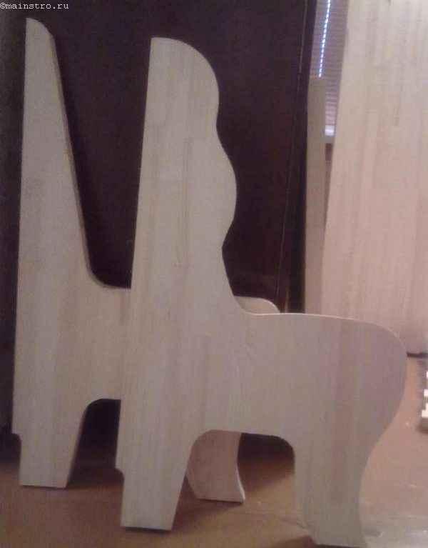 шаблоны боковинок кухонного уголка из фанеры