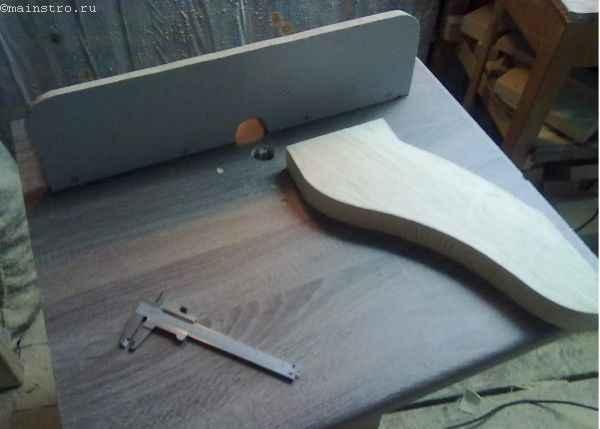 лапки из щита для ножек кухонного стола