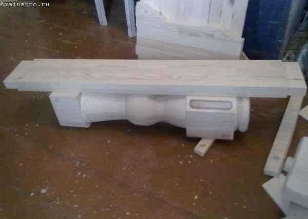 нижняя перекладина кухонного стола