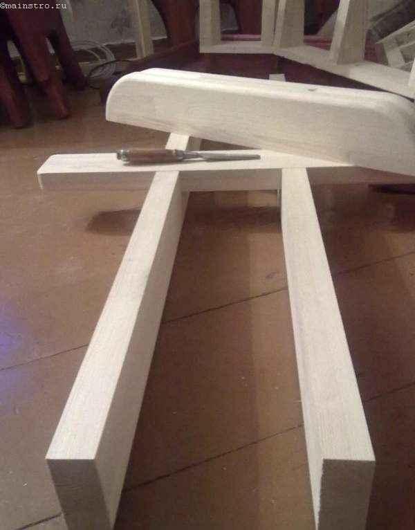 каркас крепления к ножкам кухонного  стола