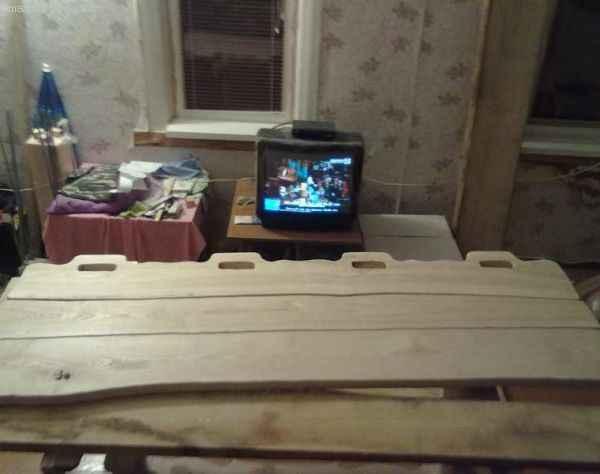 изготовление спинок стульев и скамьи для садового гарнитура