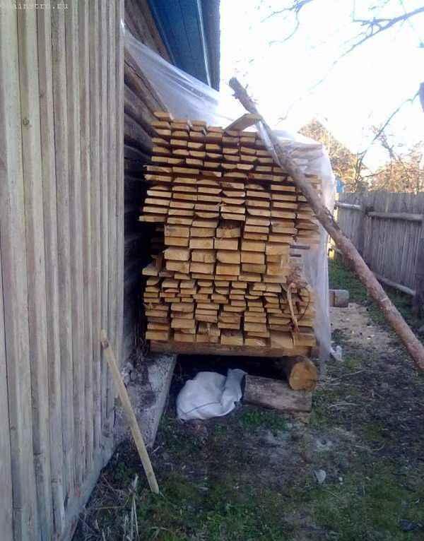 Доски толщиной 40 мм для садовых качелей