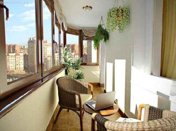 Фото балкон изнутри