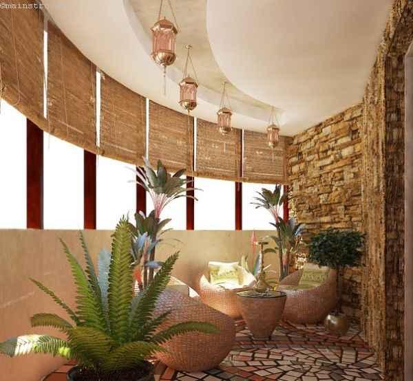 Оригинальный проект балкона