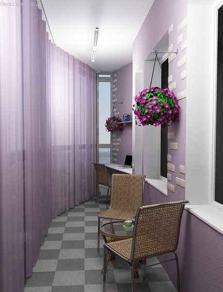 Балкон как отдельная комната