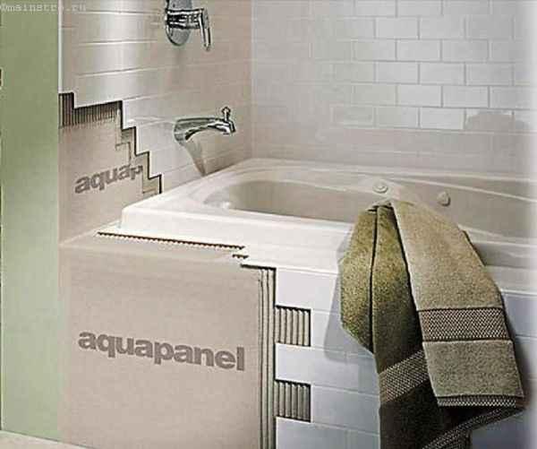 Фото - аквапанель в ванной