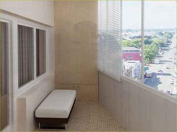 Остекление балконов и лоджий - фото