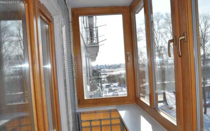 Балкон с выносом - фото