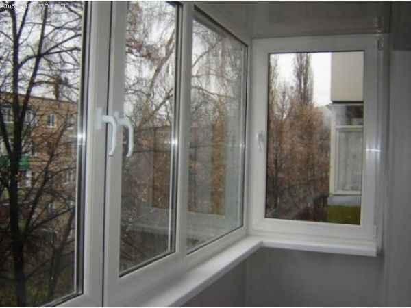 Тёплое остекление балкона и лоджии в ПВХ профиле