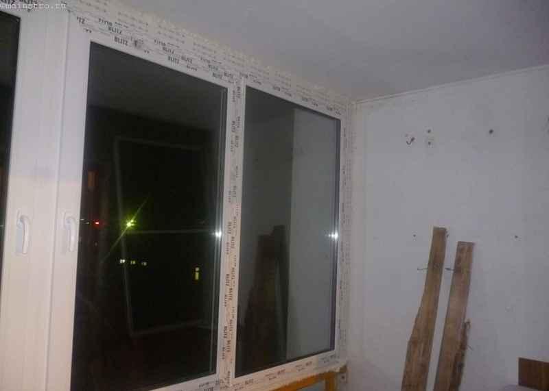 Лоджия-комната с металлическим парапетом