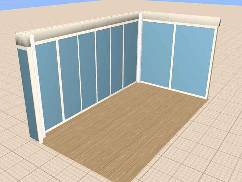Остекление балкона и лоджии - проект веранды