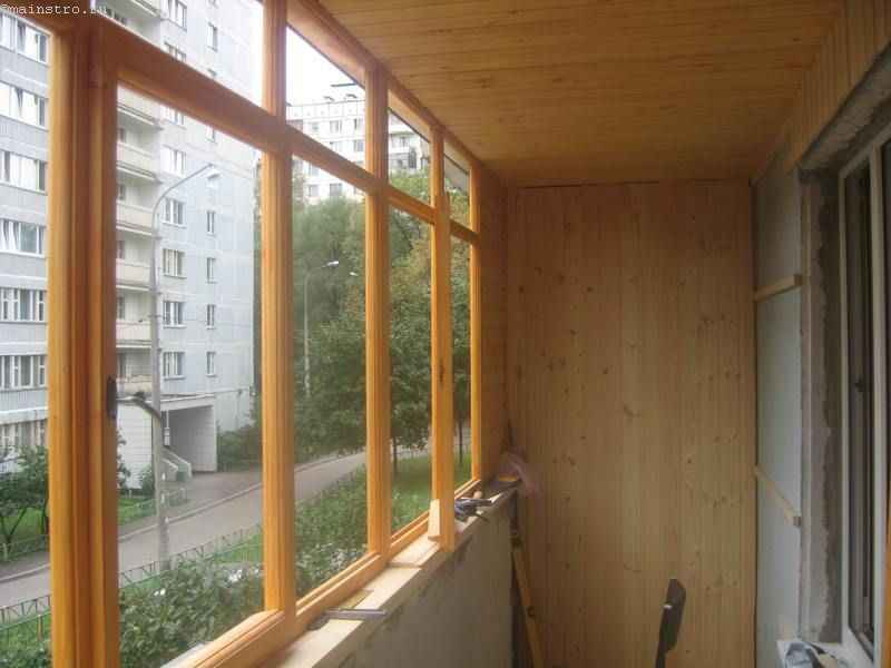 Балкон из дерева своими руками фото.