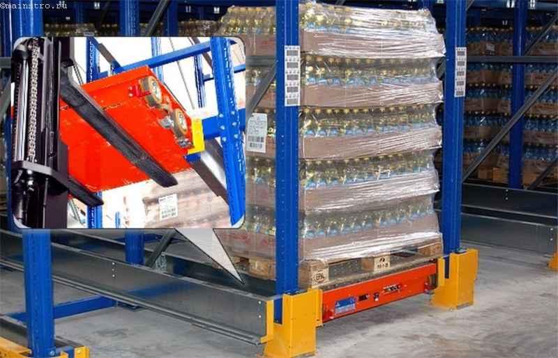Shattle система паллетных складских стеллажей