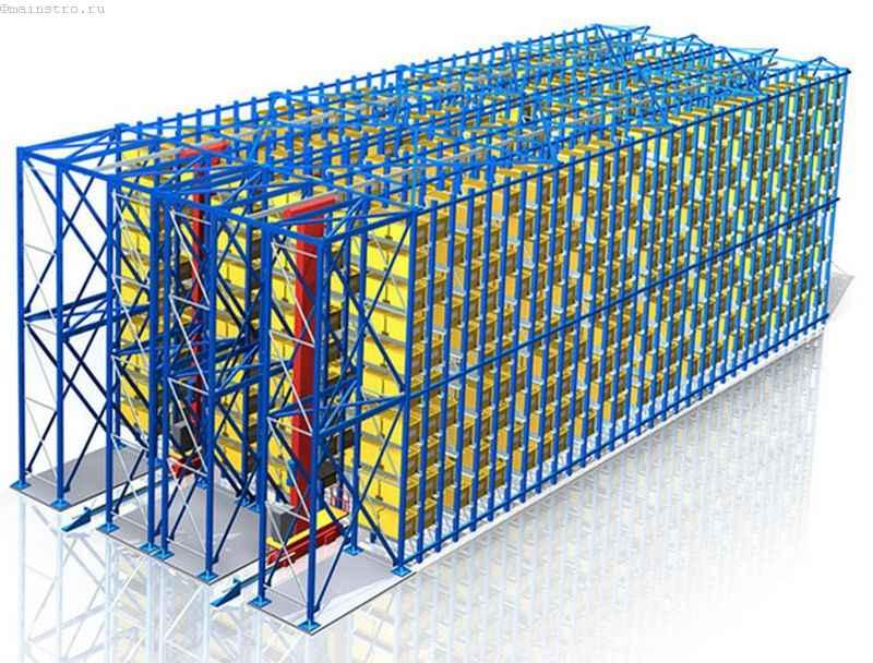 Автоматизированная система складских паллетных стеллажей