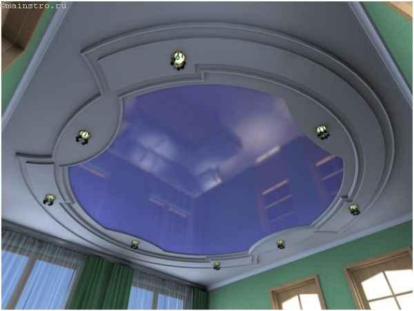 Экологические натяжные потолки из ПВХ пленки