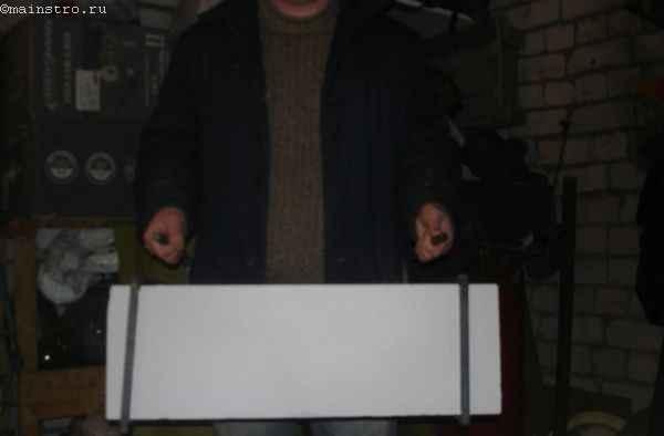 Приспособление для переноски газобетонных блоков