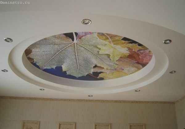 Матовые натяжные потолки имитирующие беленую поверхность