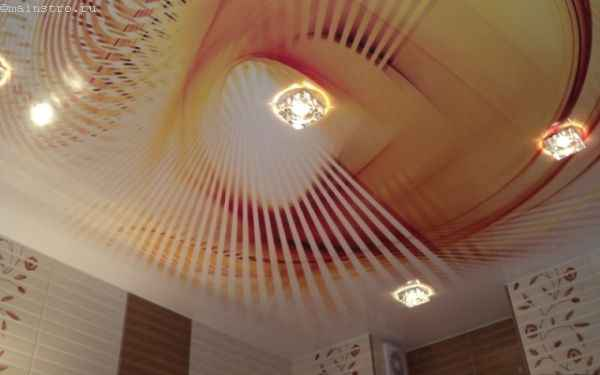Натяжные потолки с объемной фотопечатью