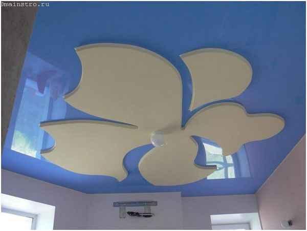 Натяжные потолки для кухни из ПВХ пленки