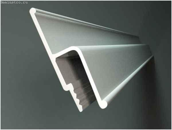 Стеновой профиль для крепления натяжных полотен
