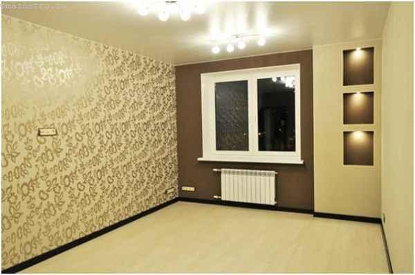 Тканевый натяжной потолок для гостиной