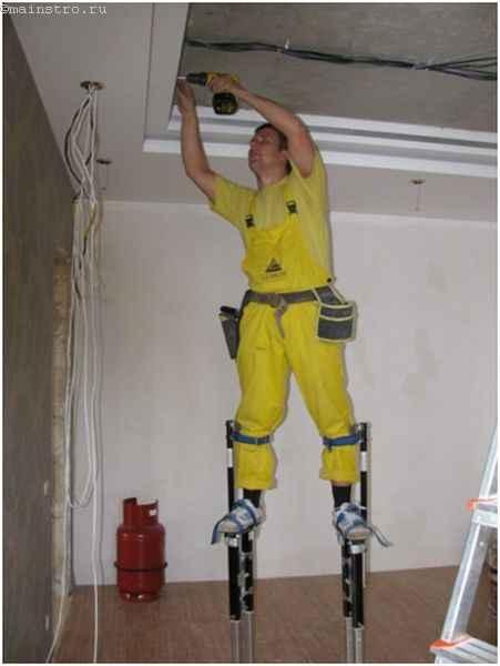 Как сделать натяжные потолки - подготовка помещения