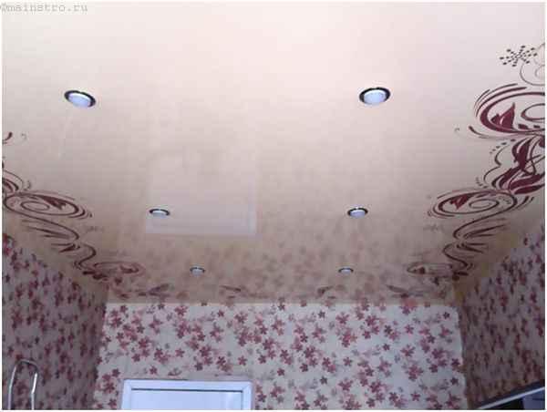 Пленочные натяжные потолки с фотопечатью