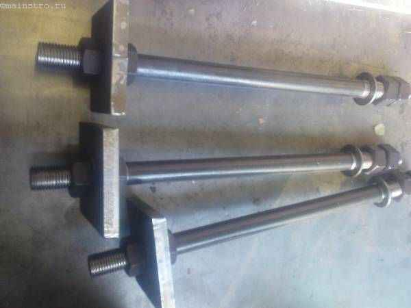 Фундаментный болт от М12 до М140 длиной до 6000 мм