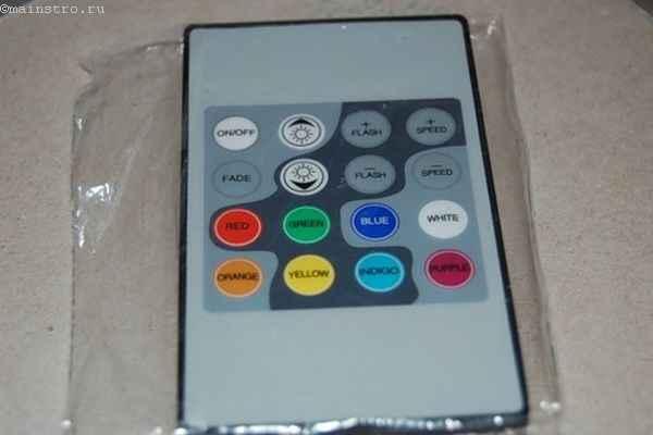 Фото радиопульта для контроллера подствеки под натяжной потолок