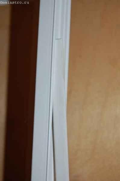 Тканевый натяжной потолок : профиль с клином