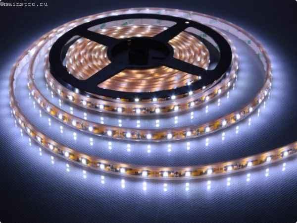 Светодиодная лента для натяжного потолка с подсветкой