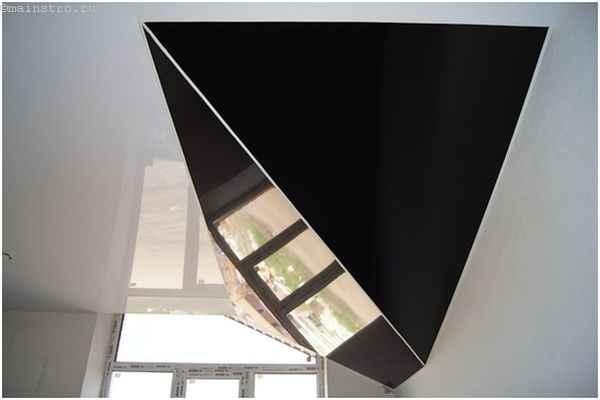 Конструкция-натяжной потолок с ПВХ пленки