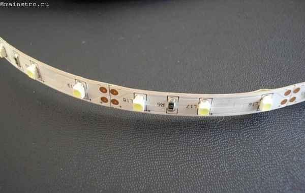 Светодиодная лента для подсветки натяжного потолка