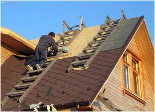 Ошибки при строительстве крыши: передвижение по конструкции