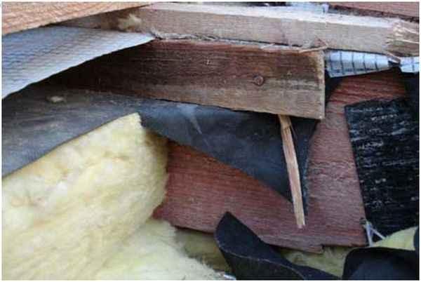 Ошибки при строительстве крыши: неверный монтаж гидроизоляции
