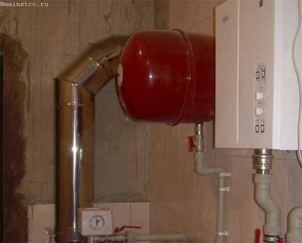 Настройка отопления: мембранный бак