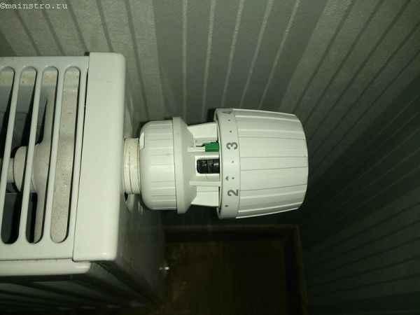 Настройка отопления: ручной термостат
