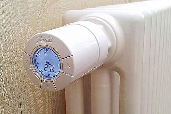 Настройка отопления: термостатический клапан на радиаторе