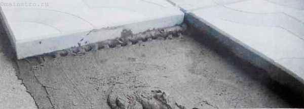 Мокрый способ подготовки площадки под садовые дорожки